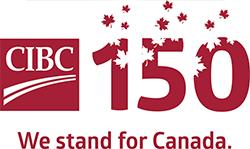 CIBC 150 official logo