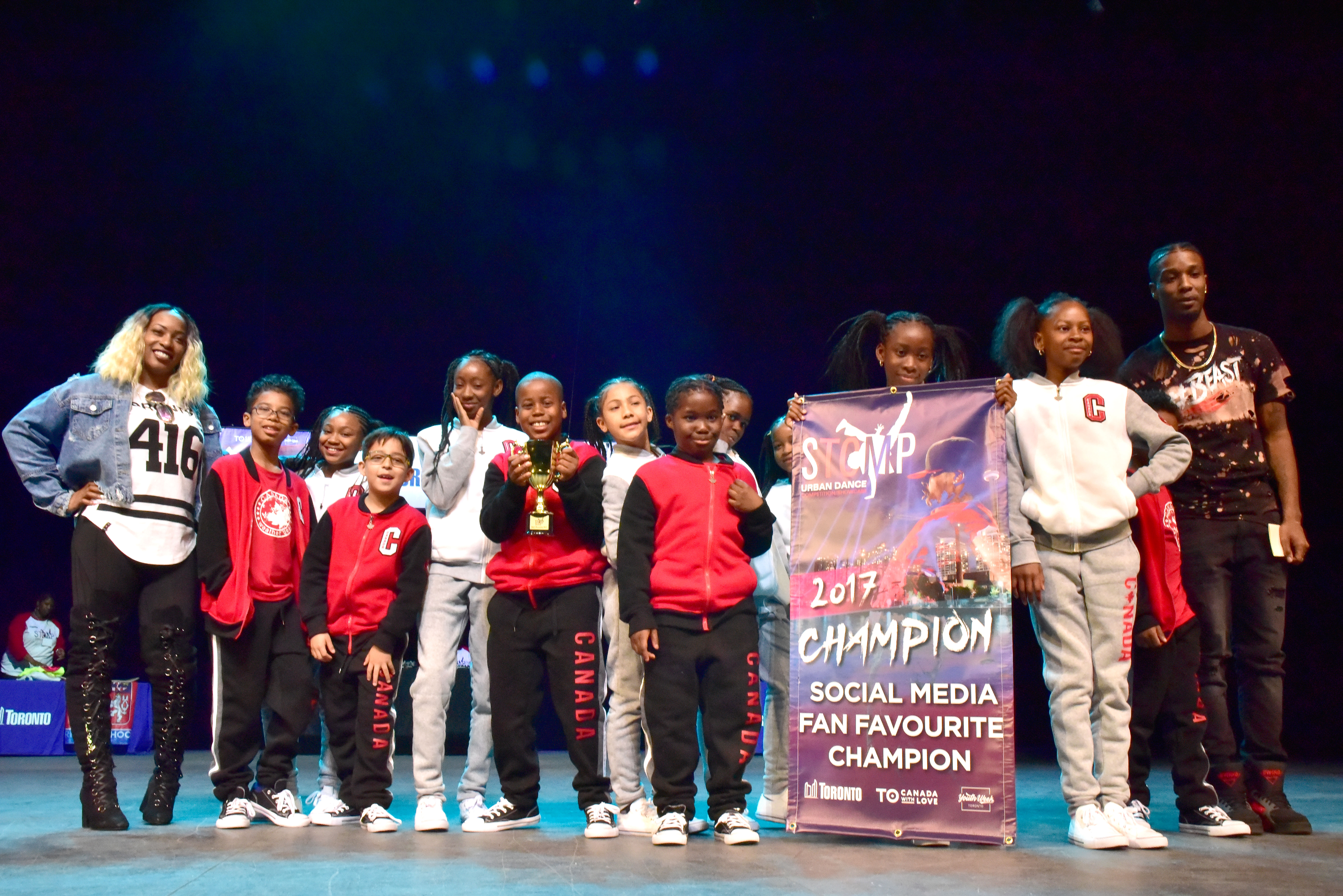 STOMP 2017 Fan Fav dance group winners