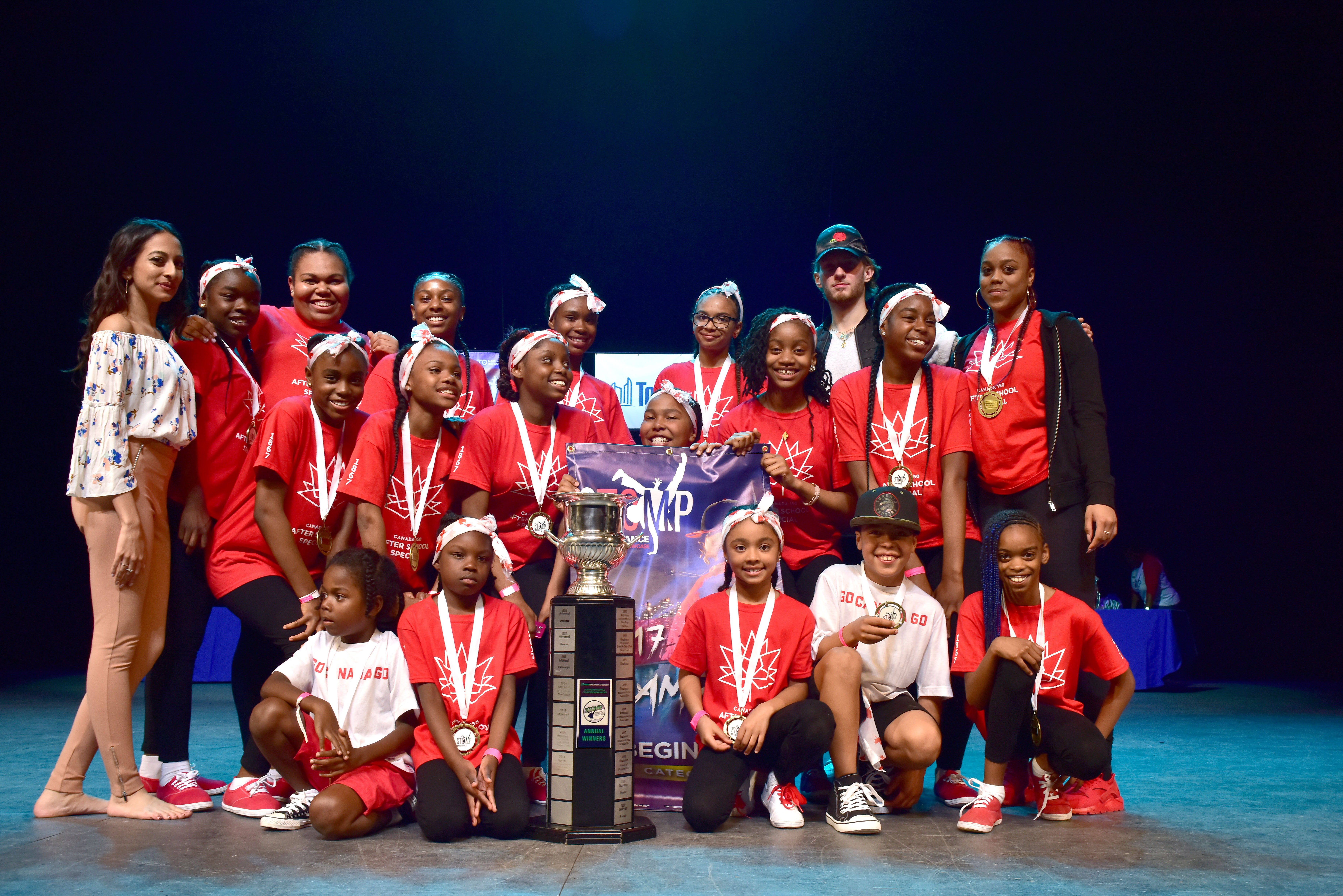 STOMP 2017 Beginner dance group winners