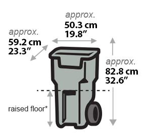 Garbage Bin - Small