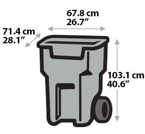 Garbage Bin - Large