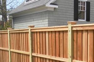 Fence problem on private property