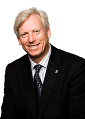 Portrait of former Toronto mayor David Miller