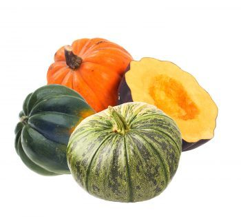Three and one half squash together