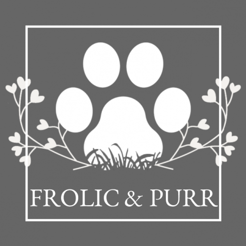 Frolic and purr logo