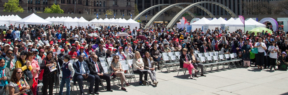 Toronto Newcomer Day at Nathan Philip Square