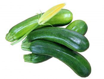 six zucchini