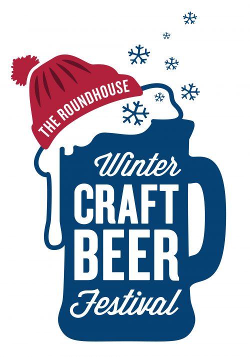 Winter Craft Beer Festival logo - beer mug and hat