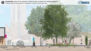 Glasgow St Parkette improvements