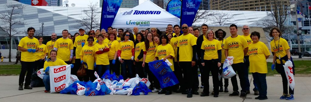 Clean Toronto Together group photo.