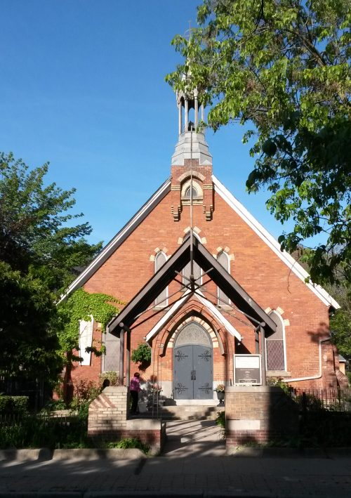 This is a photograph of the Church of the Epiphany and St Mark in Parkdale