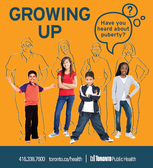 growing up pamphlet cover