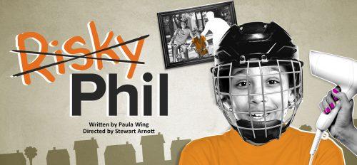 Risky Phil - show poster