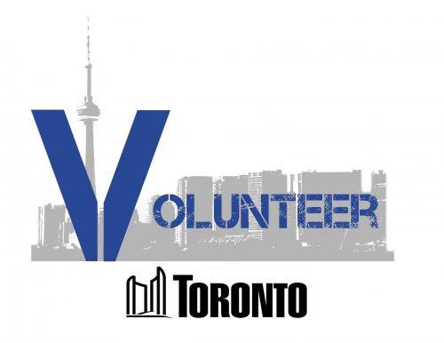 Volunteer fro City of Toronto logo