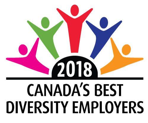 2018 Canada's Best Diversity Employers logo