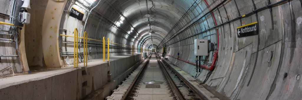 subway tunnel for TYSSE