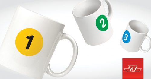 TTC branded mugs