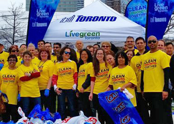 Clean Toronto Together - community members cleaning our public spaces