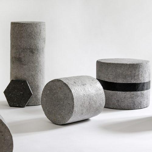 stone sculptures - geometric.
