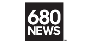 Logo - 680 News BW