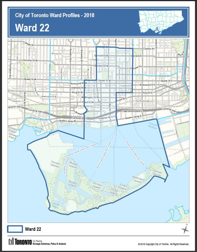 Toronto ward 20 boundaries in dating 5