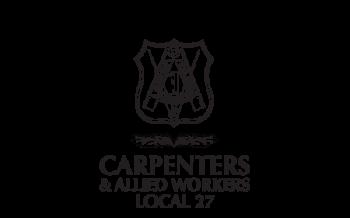 Logo - Carpenters Union BW