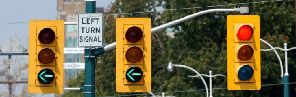 Image of Traffic Signals along Spadina Road