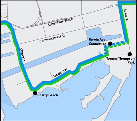 Toronto Trail Map at Unwin