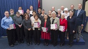 Long-Term Care Homes & Services Excellence in Volunteering Award winners