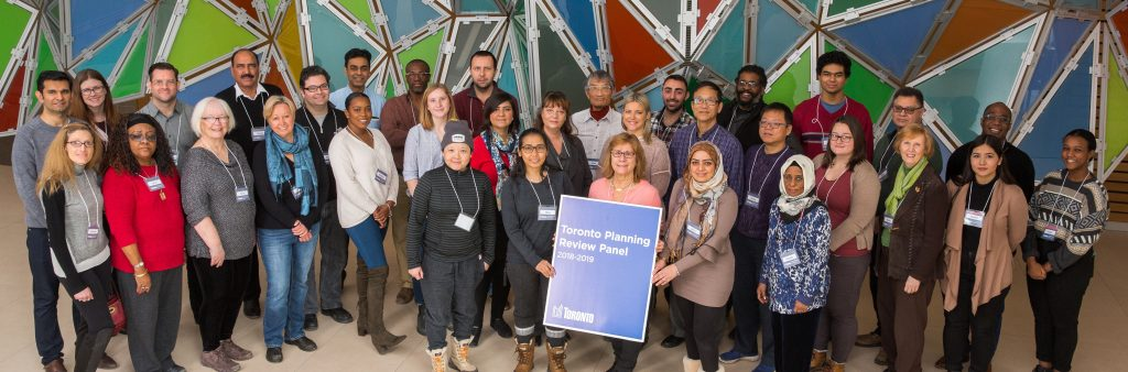 Toronto Planning Review Panel 2018-2019