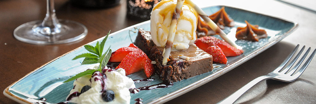 Picture of a dessert from Vos.
