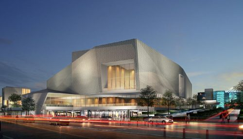 Rendering of the proposal for Woodbine Entertainment