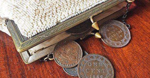 coins, purse