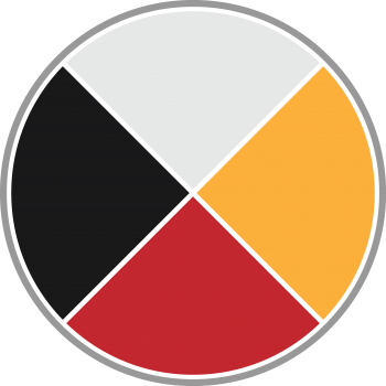 Image of Indigenous emoji for the Medicine Wheel