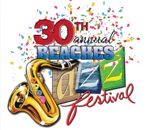 Beaches Jazz Festival artwork