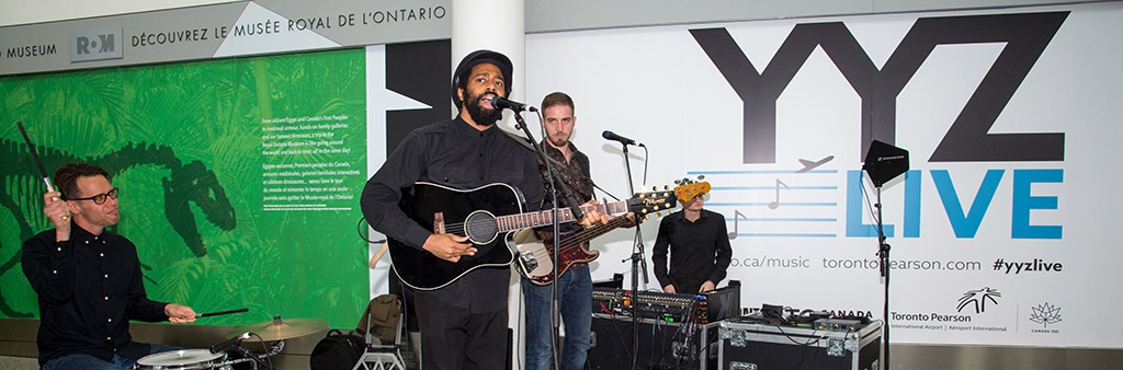 AHI performs as part of YYZ Live.