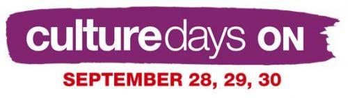 Culture Days logo/wordmark