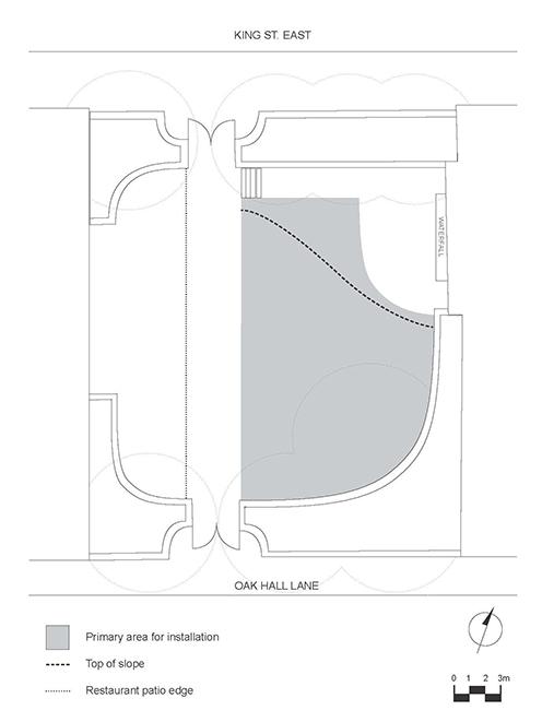 Toronto sculpture garden plan
