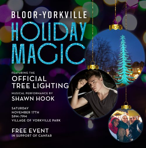Holiday Magic event poster