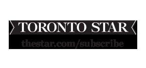Cavalcade of Lights media sponsor Toronto Star company logo