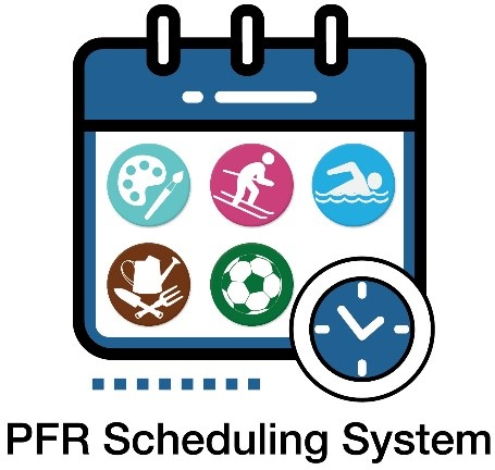 Application icon for new recreation scheduling tool