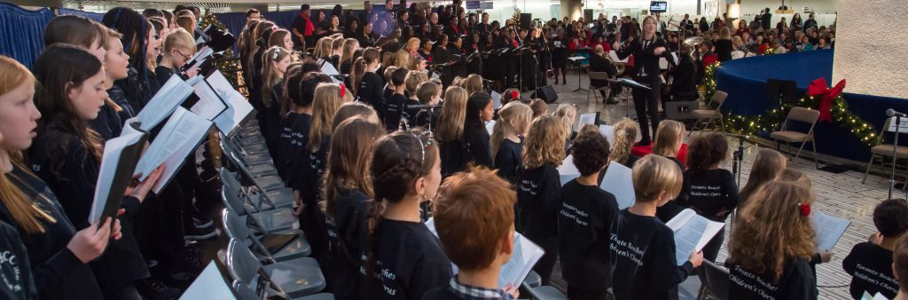 Toronto Beaches Children's & Youth Chorus at the 2017 Christmas Concert