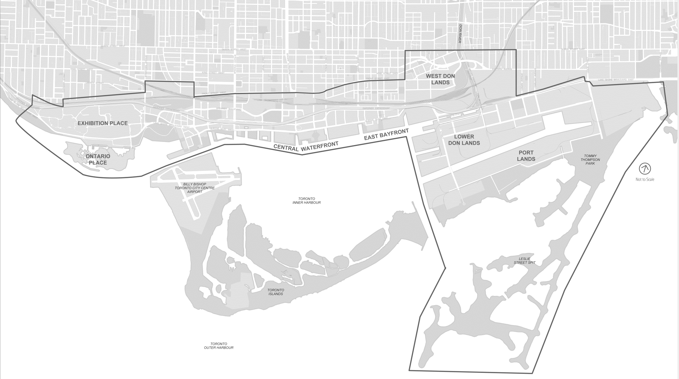 Designated Waterfront Area Map