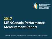 Cover of MBNCanada 2017 Performance Measurement Report