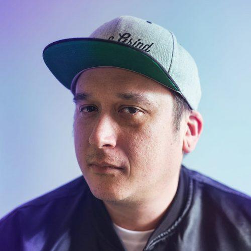 Colour headshot of DJ DND