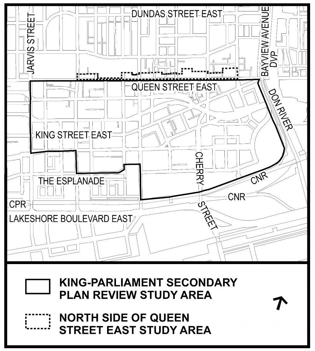 King Parliament Secondary Plan Area