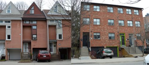 examples of houses built in the late 20th century in Cabbagetown Southwest