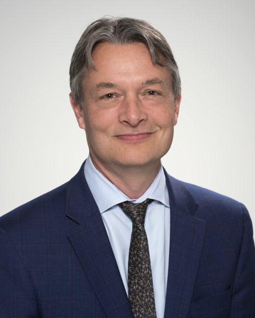 Councillor Gord Perk's portrait