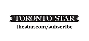 Toronto Star black and white logo