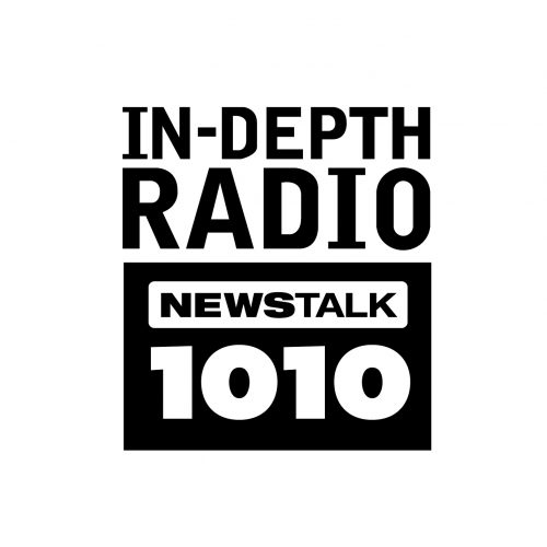 Newstalk 1010 black and white logo